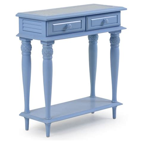 Distressed Entry Table Coastal Cottage Entry Table Distressed Blue Leaders Casual Furniture House Pinterest