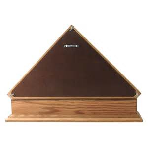 flag cases large triangle with pedestal senators flag display and pedestal for 5x9 5ft flag