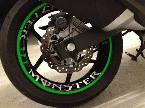 Kawasaki Z1000 Felgenaufkleber by Felgenbett Kleber Lack Lackpflege Lackier Tipps