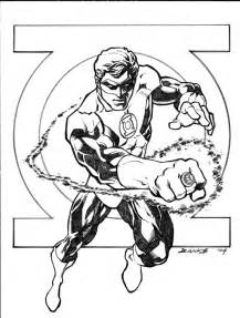 Green lantern coloring pages free printable coloring pages cool