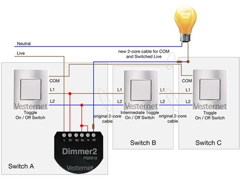 wiring diagram two way and intermediate switch wiring