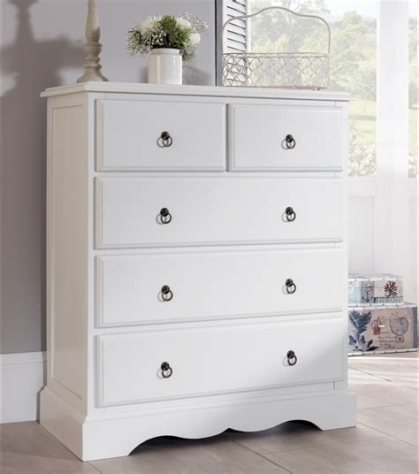 White Chest Of Drawers by White Bedroom Furniture Bedside Table Chest Of