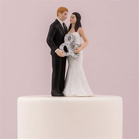 Wedding Cake Tops by Mr Mrs Porcelain Figurine Wedding Cake Topper With