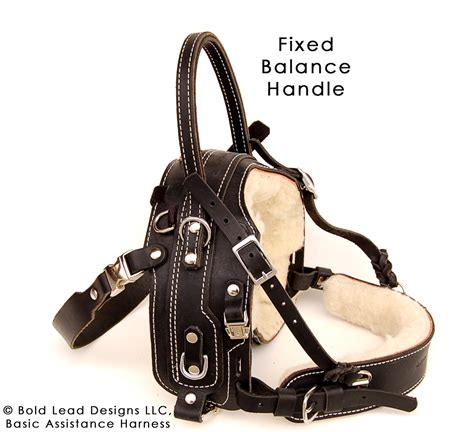 balance harness bah fixed handle standard