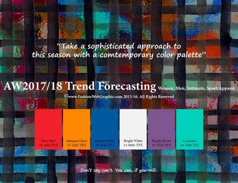 Aw2017 2018 Trend Forecasting On Behance | 1000 images about color schemes 2017 2018 on pinterest
