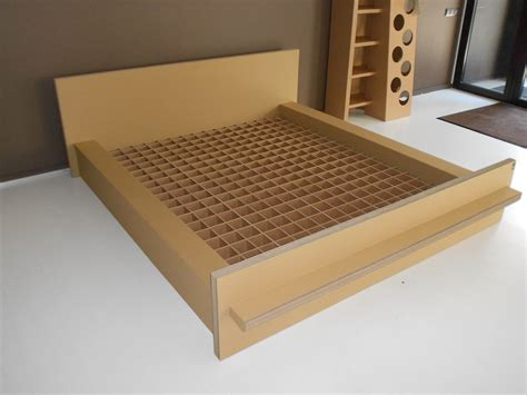 cardboard bed 7 wacky pieces of cardboard furniture you ll have to see