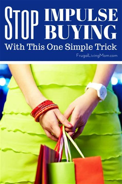 Tips To Stop Impulse Buying by You Think And The On