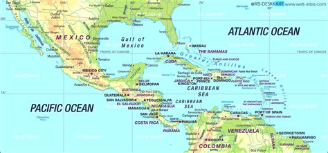 south america and mexico map speaking countries and their capitals south