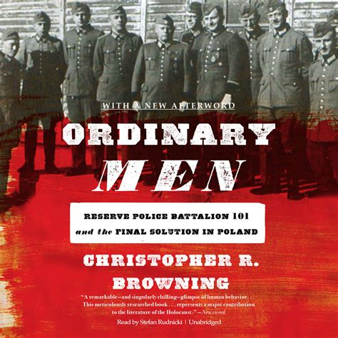 libro ordinary men reserve police ordinary men audiobook listen instantly