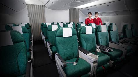 cathay pacific a330 300 premium economy business