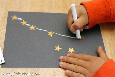 constellation crafts for constellation craft for gift of curiosity
