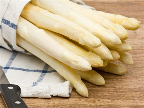 white asparagus a sweeter more mellow version of green