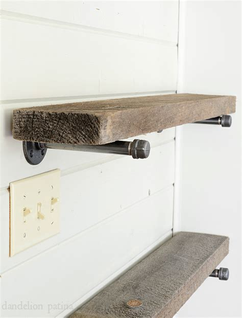rustic industrial shelving rustic industrial shelving daze diy industrial pipe shelving living room goenoeng
