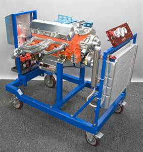 Is prw s engine running stand that allows you to break in an engine