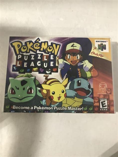 League Original No Box puzzle league for nintendo 64 in original box no boo