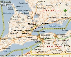 map of us and canada toronto toronto o96r3f
