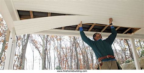 covered porch ceiling ideas covered porches