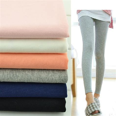 Material Soft Strech stretch fabric cotton knitted fabrics soft and smooth fabric t shirt