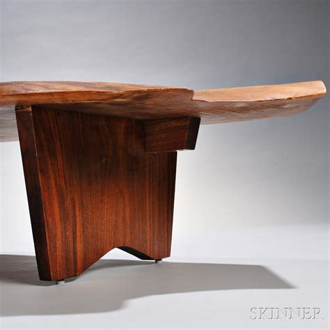 george nakashima coffee table george nakashima coffee table sale number 2830b lot