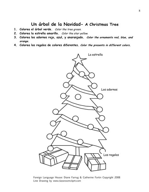 printable christmas games in spanish 9 best images of christmas words in spanish worksheets