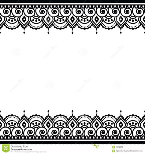 indian clipart borders