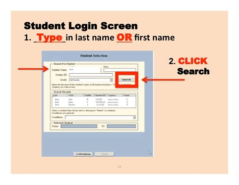 map student login map testing student login my