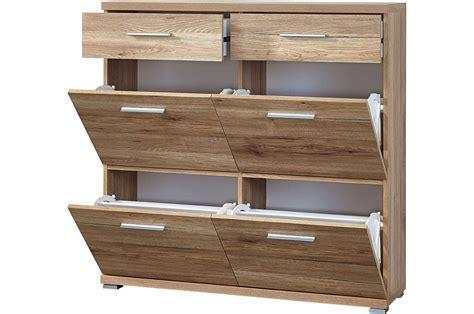 meubles a tiroirs meuble chaussures 4 portes et 2 tiroirs trendymobilier