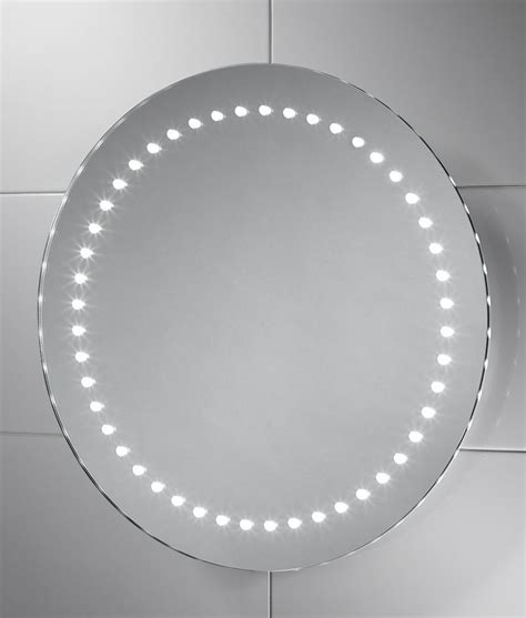 round illuminated bathroom mirror round 500mm led illuminated bathroom mirror with if sensor