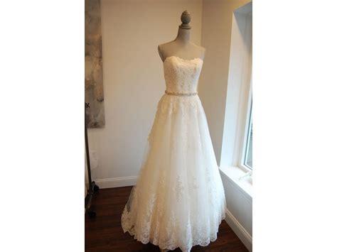 Madeline Dress Fit To L 1 madeline gardner naida 1 size 10 sle wedding dresses