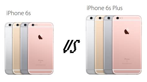 iphone 6s vs iphone 6s plus comparison preview tech advisor