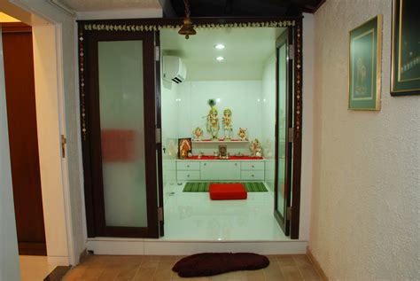 designing the space prayer pooja room