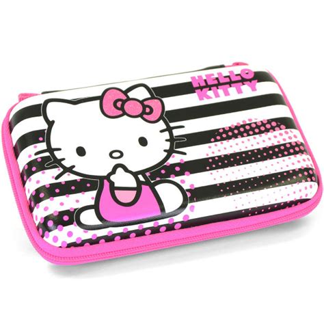 hello kitty nintendo ds hello kitty eva striped case nintendo 3ds dsi ds lite
