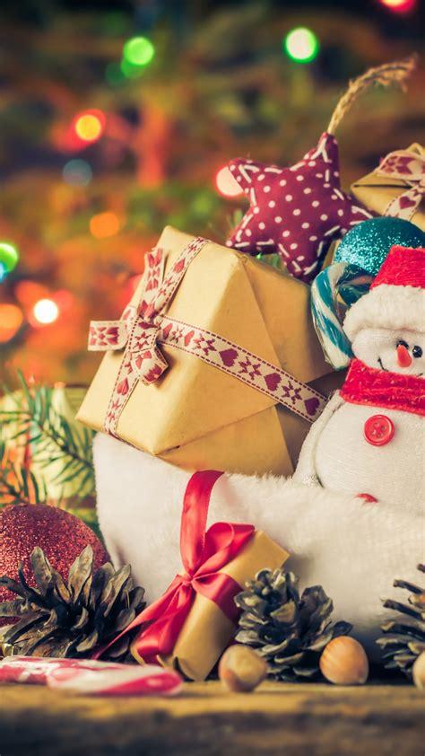 wallpaper  year christmas gifts snowman