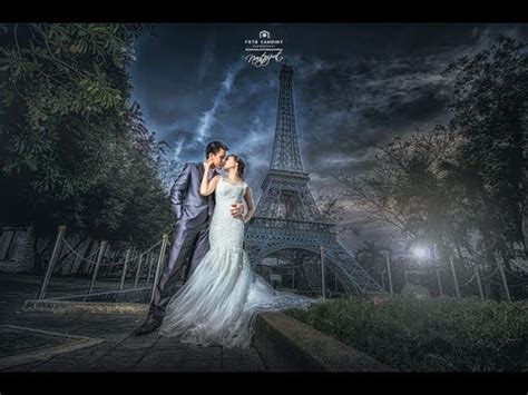 Pre wedding photo editing LightRoom & PhotoShop CC 11