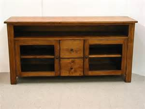 rustic tv stands tv stand pine tv console rustic tv by harvesttreasuresinc