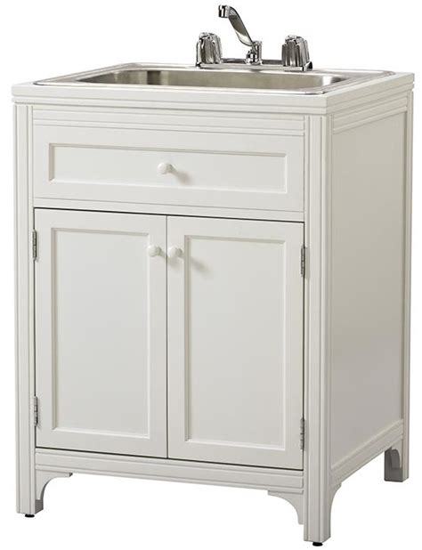 Laundry Utility Sink With Cabinet Home Furniture Design Laundry Room Utility Sink Cabinet