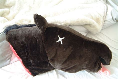 godfather horse head pillow godfather horsehead pillow 2 pics