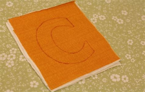 make your own fabric alphabet free template