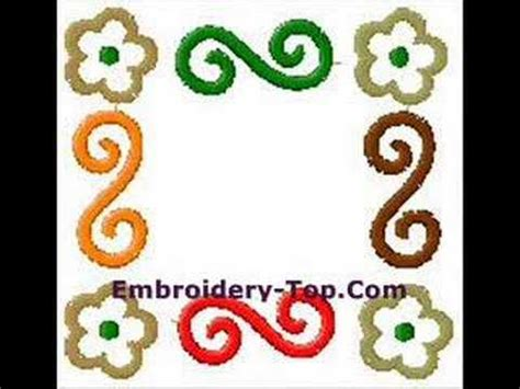 embroidery design youtube embroidery designs free 2 youtube