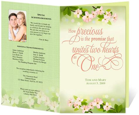 17 best images about wedding programs design templates on