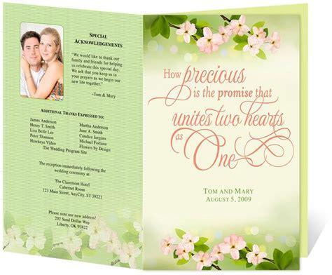 wedding program design templates 17 best images about wedding programs design templates on