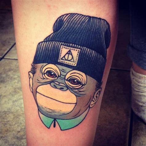 cartoon tattoo forearm 1000 ideas about monkey tattoos on pinterest tattoos