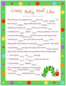 personalized baby mad libs for digital