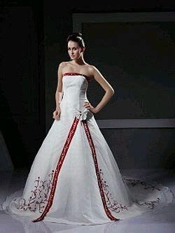 imagenes de vestidos de novia con detalles rojos muyameno com vestidos de novia blanco y rojo parte 2