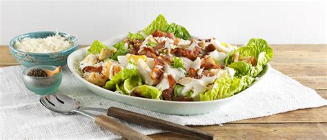 Food Prep Meals by Chicken Amp Bacon Caesar Salad Food In A Minute