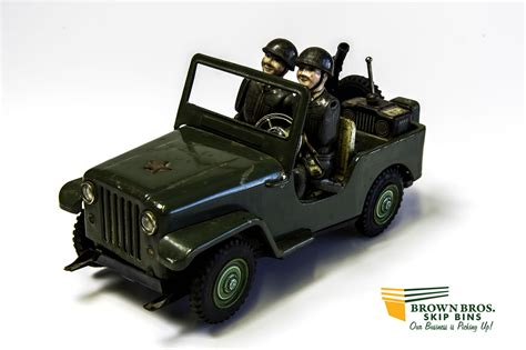 Japanese Army Jeep Japanese Army Command Jeep Brown Bros Skip Bins