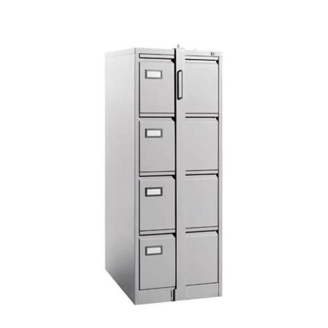 Steel Filing Cabinet with 4 Drawer Upgrade Looking Bar