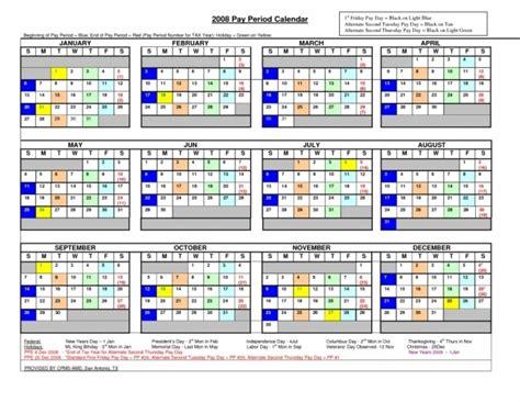 opm pay period calendar  printable calendar