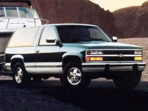 1994 chevrolet blazer turbodiesel 4x4 review