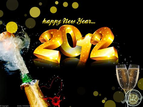 new year 2012 eternal happy new year 2012
